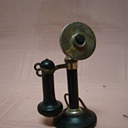 3 In. Stromberg Carlson Miniature Doll Size Telephone