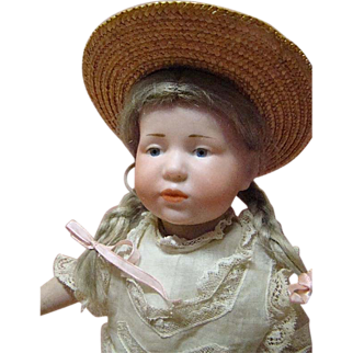 "All Original German Kammer & Reinhardt (K*R) ""Marie"" Character Doll, Mold #101"
