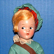 Madame Alexander Little Betty Scotch Boy Doll