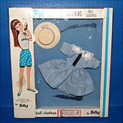 Totsy Blue Prom Fashions Doll Clothes in Original Box