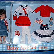 Betsy McCall Doll All American Gift Set