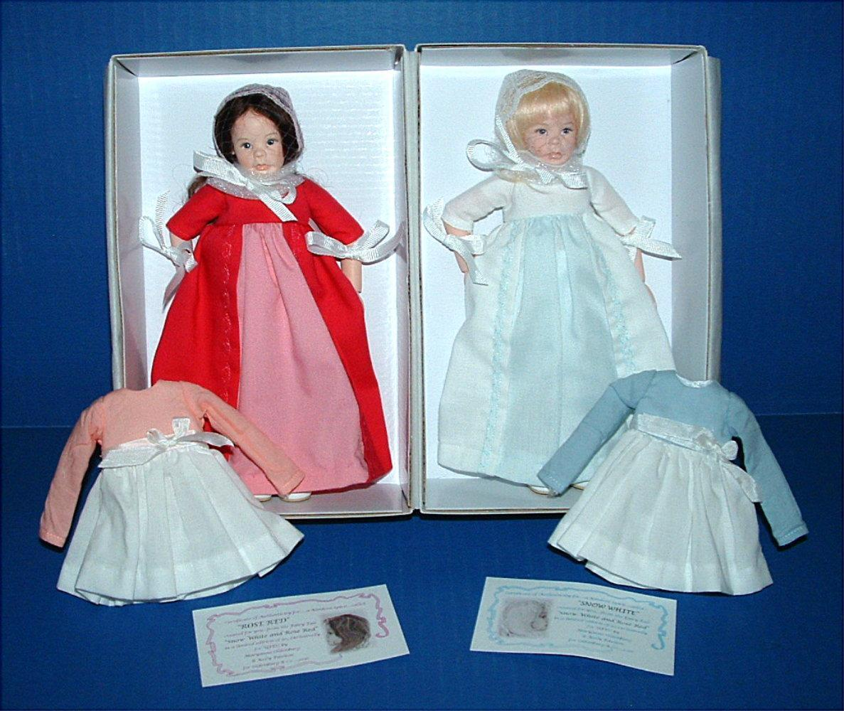 UFDC Snow White and Rose Red Dolls by Maryanne Oldenburg