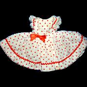 Cissette Doll Red Polka Dotted Dress