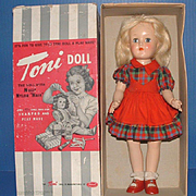 "Ideal 14"" Toni Doll in Original Box"