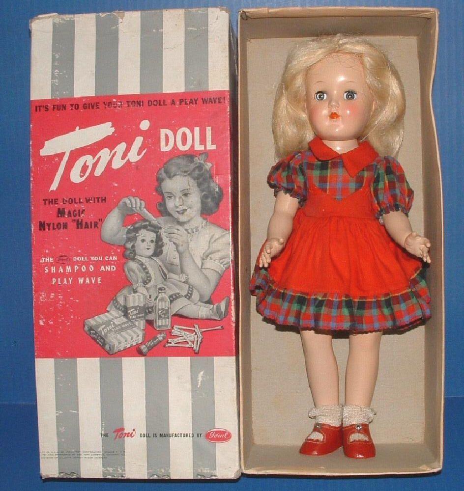 "Ideal 14"" Toni Doll in Original Box"