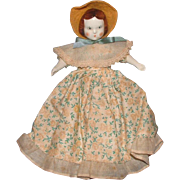 "Ruth Gibbs 7"" Godey Little Lady Doll"