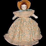 "Ruth Gibbs 7"" Godey Little Lady Doll"