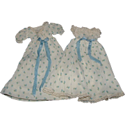 Cissette Doll Blue Rosebud Nightgown and Robe