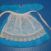 Ginny Doll Dutch Blue Dress, Bloomers, and Apron