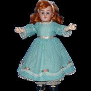 """Gebruder Knoch 10"""" Bisque Doll 193 DEP"""