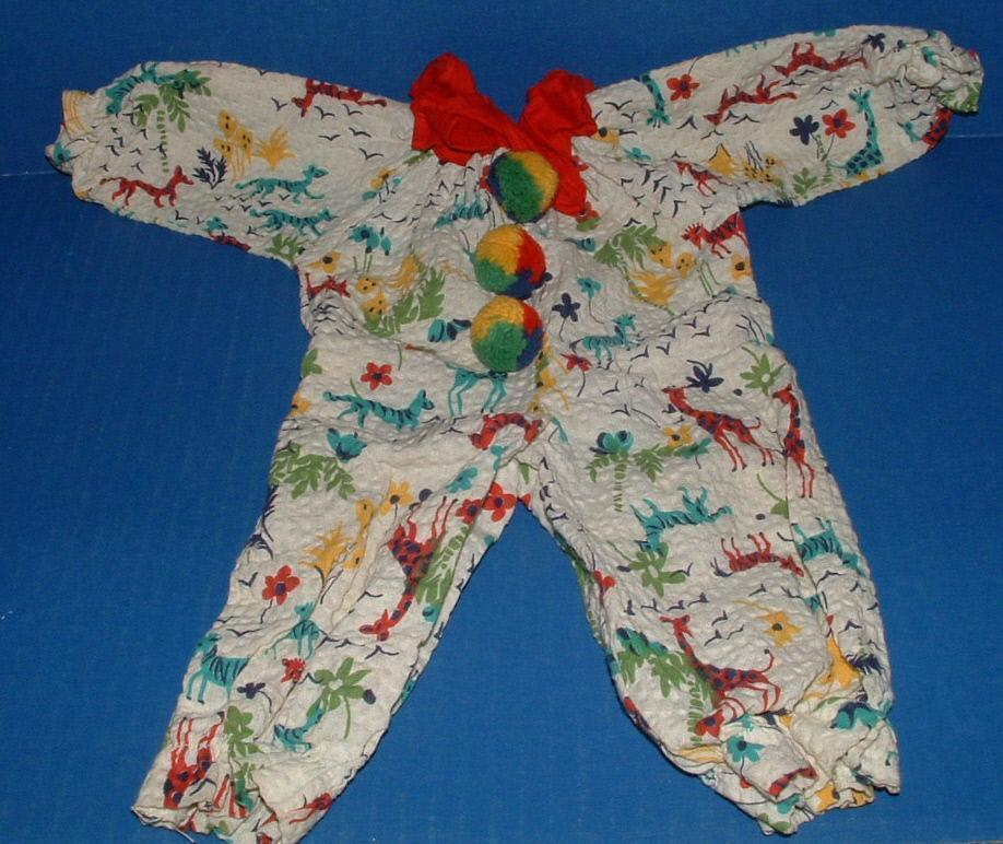 Terri Lee Doll Clown Pajama Suit