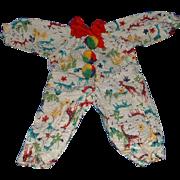 Terri Lee Doll Clown Pajama Suit