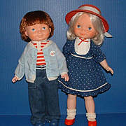 Fisher Price My Friend Mandy and My Friend Mikey Dolls