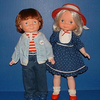 Fisher Price My Friend Mandy and My Friend Mikey Dolls
