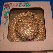 Terri Lee or Jerri Lee Doll Sombrero Hat in Original Box