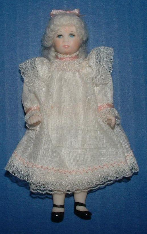 "Sweet Little 4 1/2"" Bisque Artist Doll"