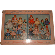 Effanbee Doll Little Lady Jig Saw Puzzles