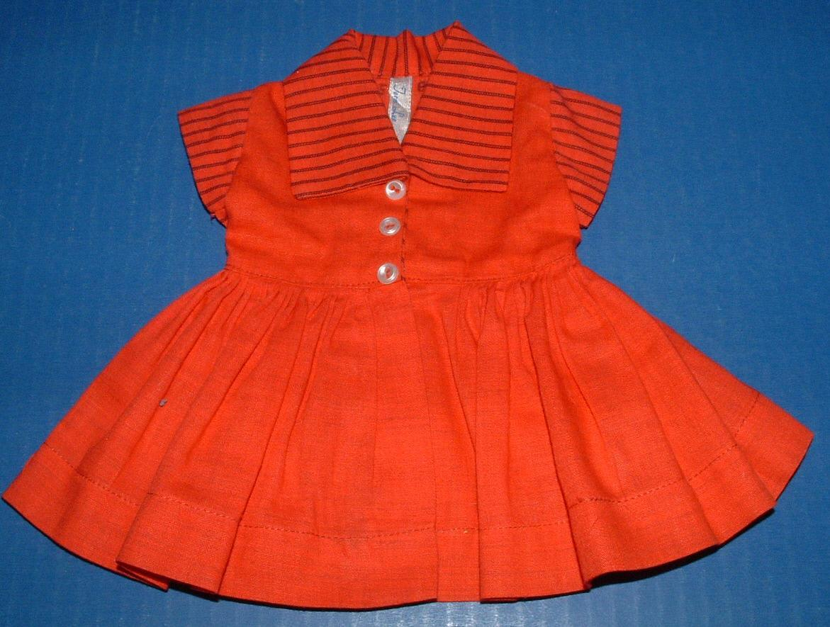 Terri Lee Doll Family Red Dress