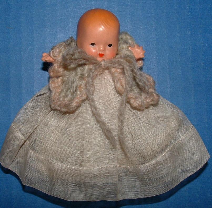 Nancy Ann Storybook Bisque Doll Hush-a-Bye Baby