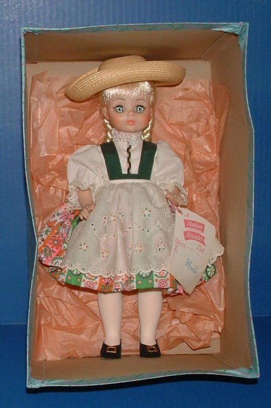 Madame Alexander Doll Heidi In Original Box