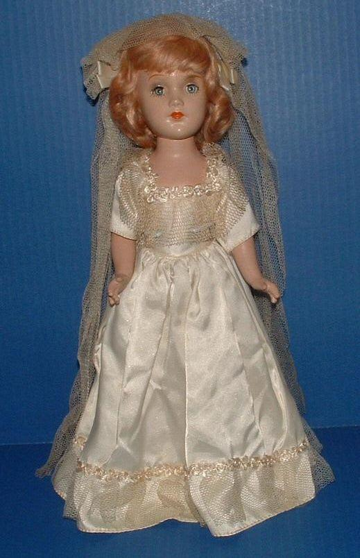 Composition Bride Doll All Original