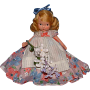 Bisque Nancy Ann Storybook Doll English Flower Girl