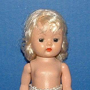 Platinum Blonde Nancy Ann Storybook Muffie Walker Doll