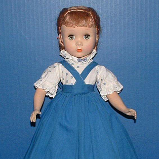 Madame Alexander Little Women Meg Outfit on a MA Maggie Face Doll