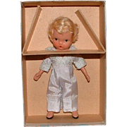 Nancy Ann Storybook Doll Bisque Jointed Ring Bearer in Original Box - Red Tag Sale Item