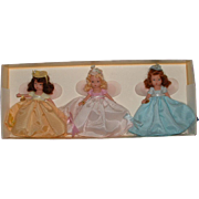 Three Nancy Ann Storybook Angel or Fairy Dolls in Original Box