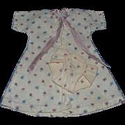 Terri Lee Linda Baby Doll Robe and Diaper