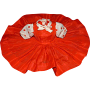 Madame Alexander Cissette Doll Red Taffeta Dress