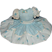 Madame Alexander Cissette Doll Powder Blue Dress