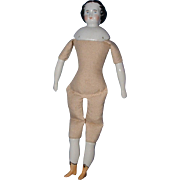 China Head Doll with Yellow Boots