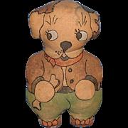 Bonzo Type Stuffed Toy Dog - Red Tag Sale Item