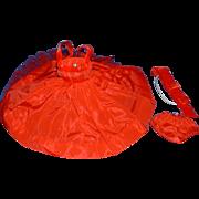 Vogue Jill Doll Red Taffeta Dress, Slip, Panties and Hat