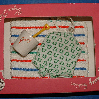 Ginny Doll Swimsuit and Accessories in Box