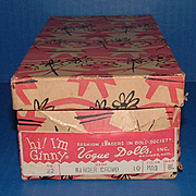 Vogue Ginny Doll Original No. 22 Box for Donna