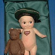 R. John Wright Kewpie Doll & Teddy Bear