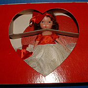 Nancy Ann Storybook Doll Queen of Hearts in Original Box