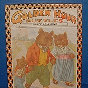 Golden Hour Puzzles - Three Bears, Three Little Kittens, Three Little Pigs