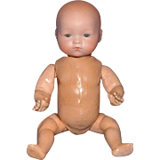 "Small 8.5"" Armand Marseilles Bisque Head Baby Doll with Compo Body"