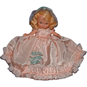 Nancy Ann Storybook Doll Monday's Child with Jointed Legs, Molded Socks