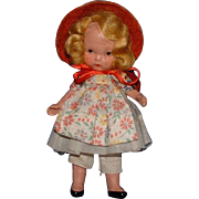 Nancy Ann Storybook Doll #120 To Market, to Market to Buy a Fat Hen