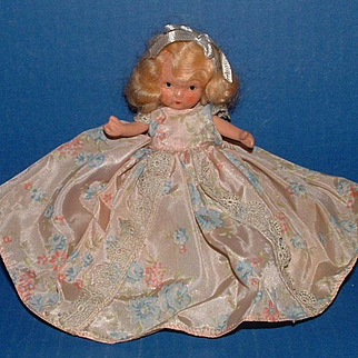 Nancy Ann Storybook Jointed Doll with Molded Socks
