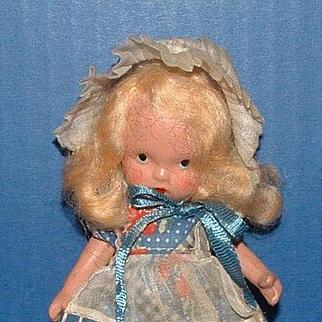 Nancy Ann Storybook Doll #118 Little Miss Muffet