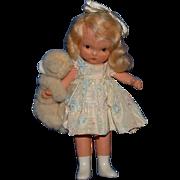 Nancy Ann Storybook Doll #128 Goldylocks and the Baby Bear, Goldilocks