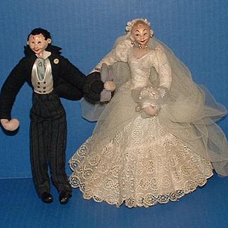 Klumpe Roldan Bride and Groom Doll