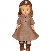 Nancy Ann Muffie Brownie Scout Doll