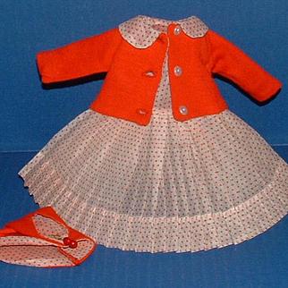 Madame Alexander Lissy Doll Dress, Jacket, Hat, Slip, Undies